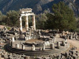 delphi ruins round